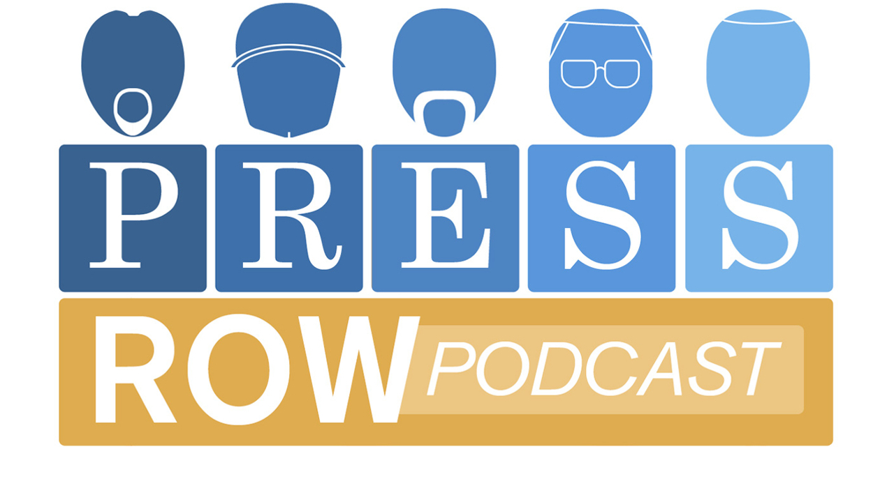 Press Row Podcast logo