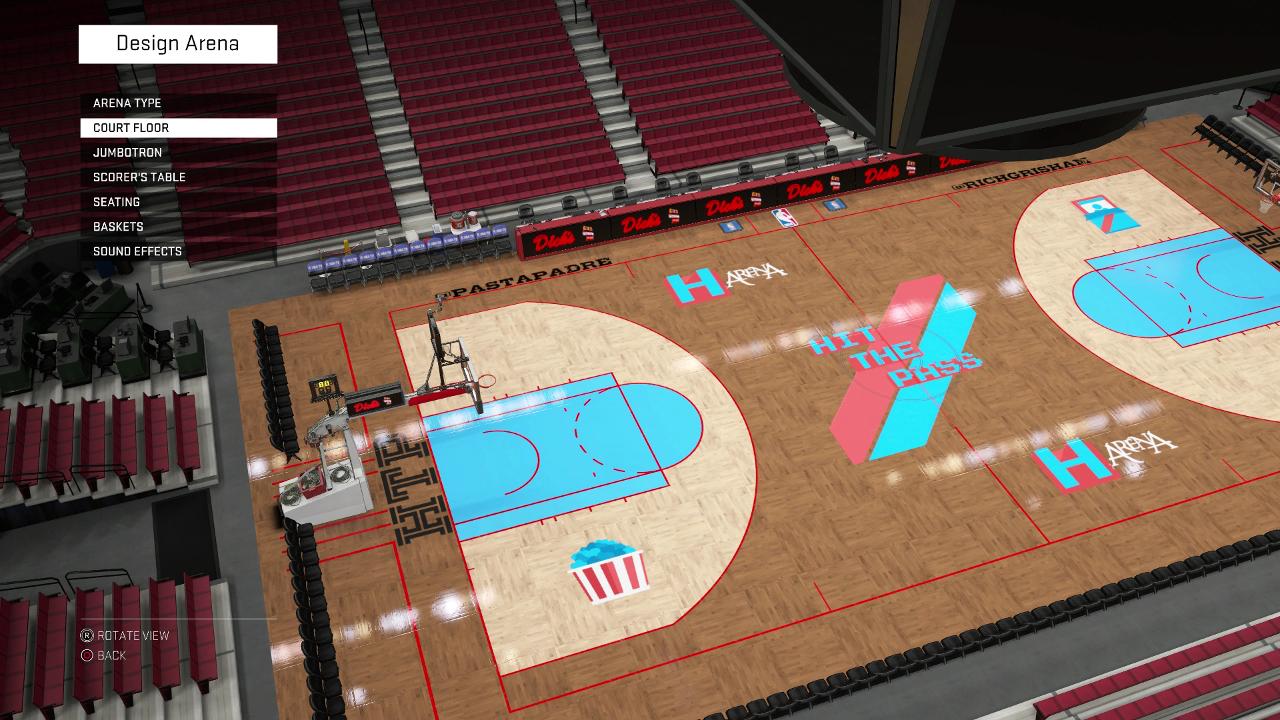 NBA 2K16 Hit The Pass Pro-Am Court