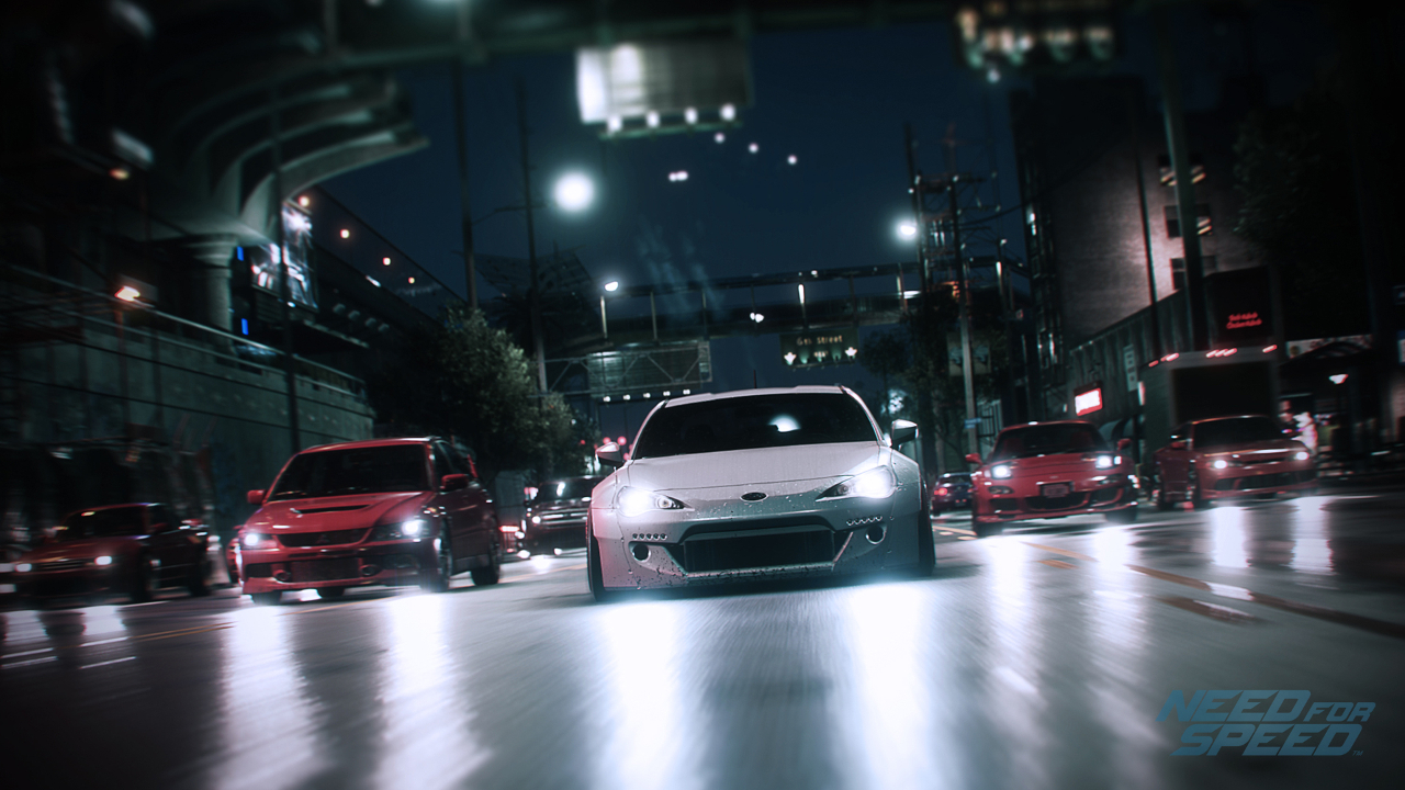 Need for Speed reboot 2015