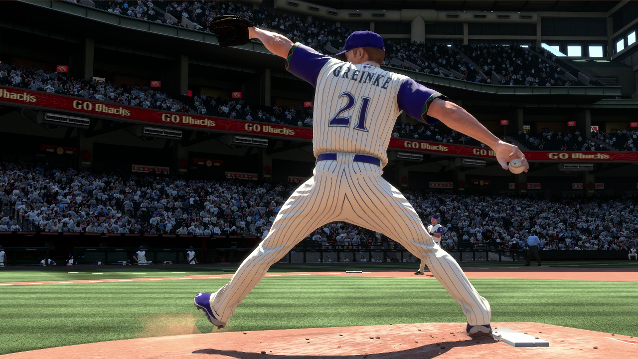 Zack Greinke Arizona Diamondbacks MLB 15 The Show