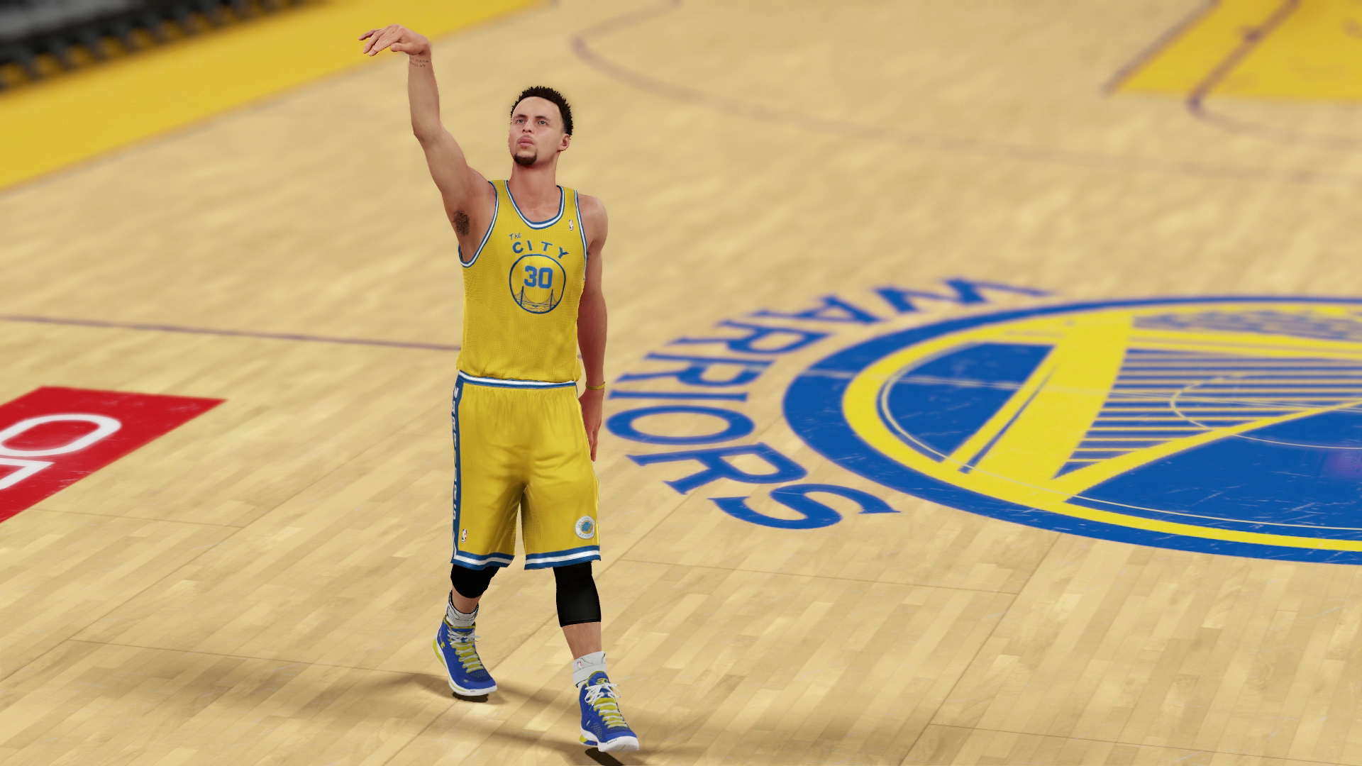 NBA 2K16 Steph Curry