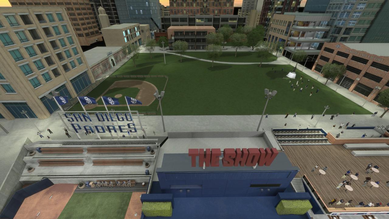 Petco Park MLB The Show 16
