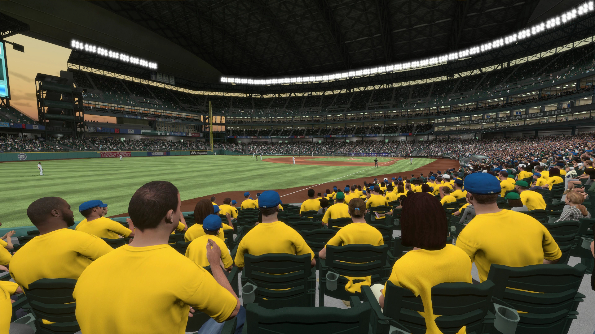 Safeco Field King's Court MLB The Show 16