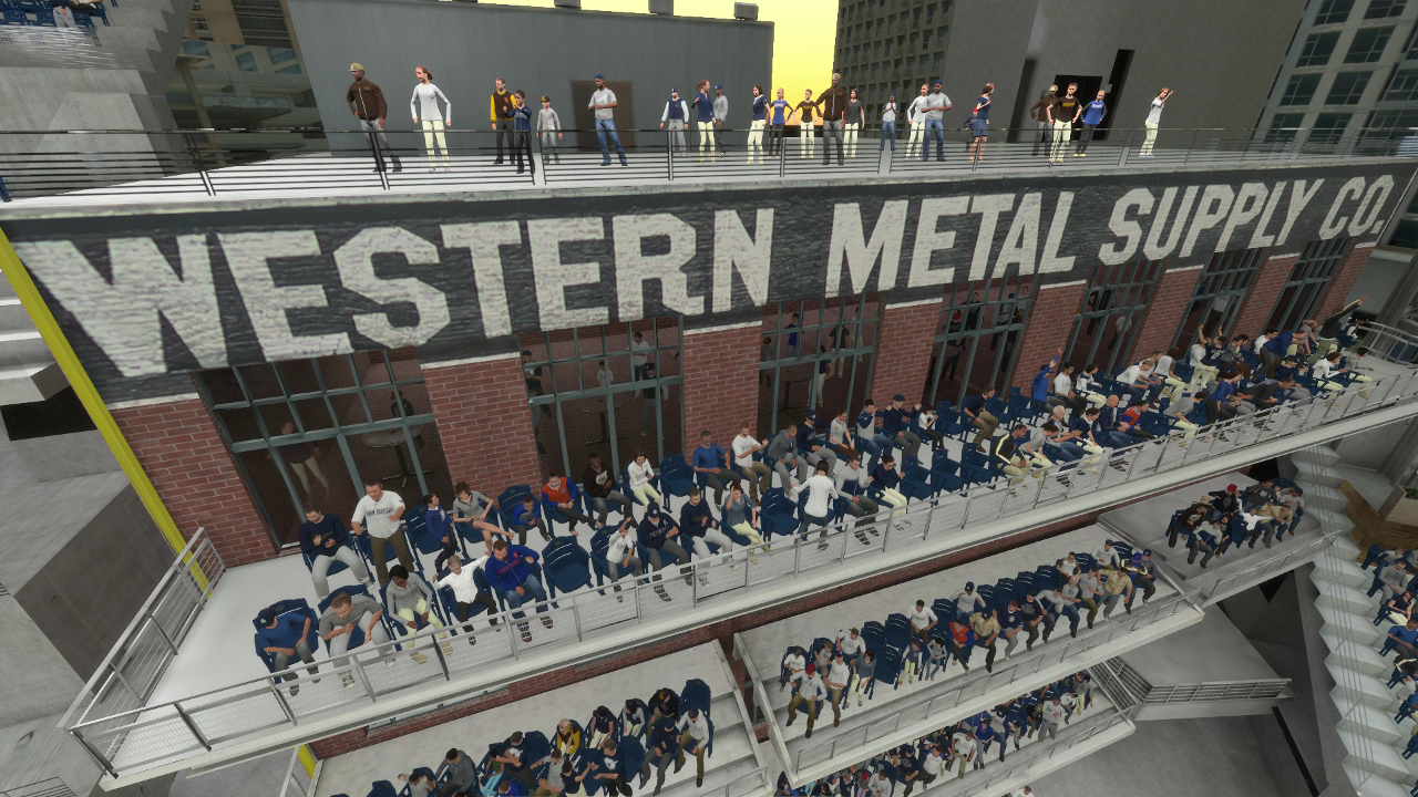 Petco Park MLB The Show 16 Western Metal Supply Co