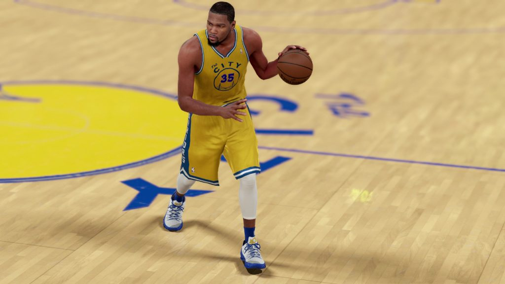 NBA 2K16 Kevin Durant Golden State Warriors